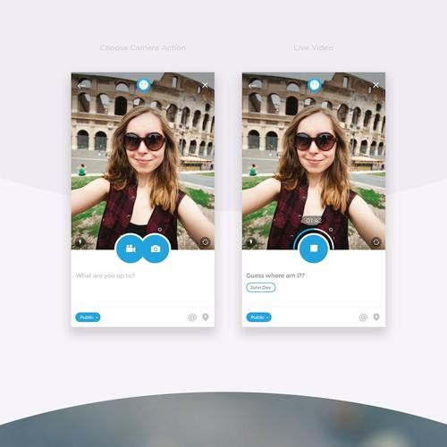 Social App for Short Duration Videos