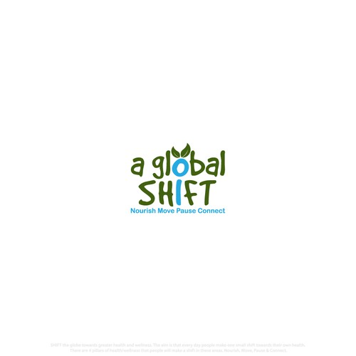 Logo for a global Shift