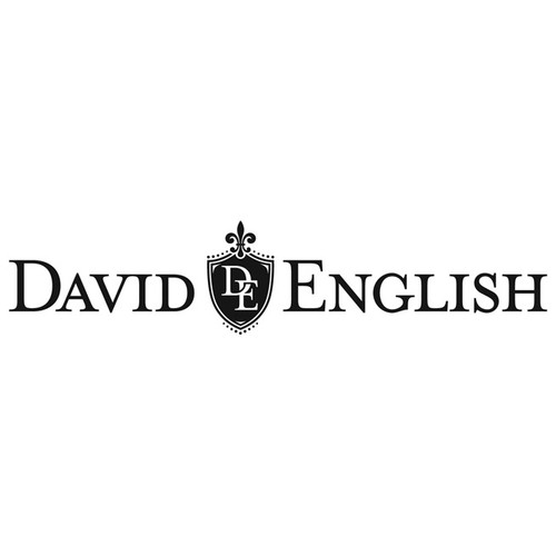 Logo for David English jewelry designer