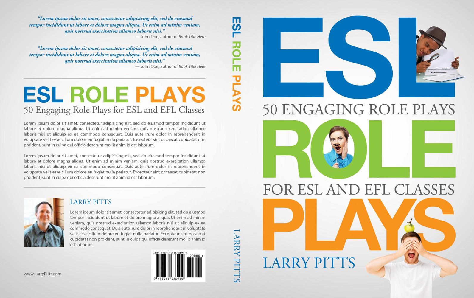 Design an eye catching, clean cover for an English teacher's book