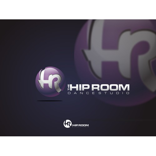 3D the HIP ROOM logo