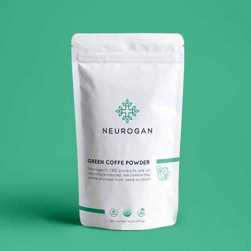 Neurogan Supplement Powder Design
