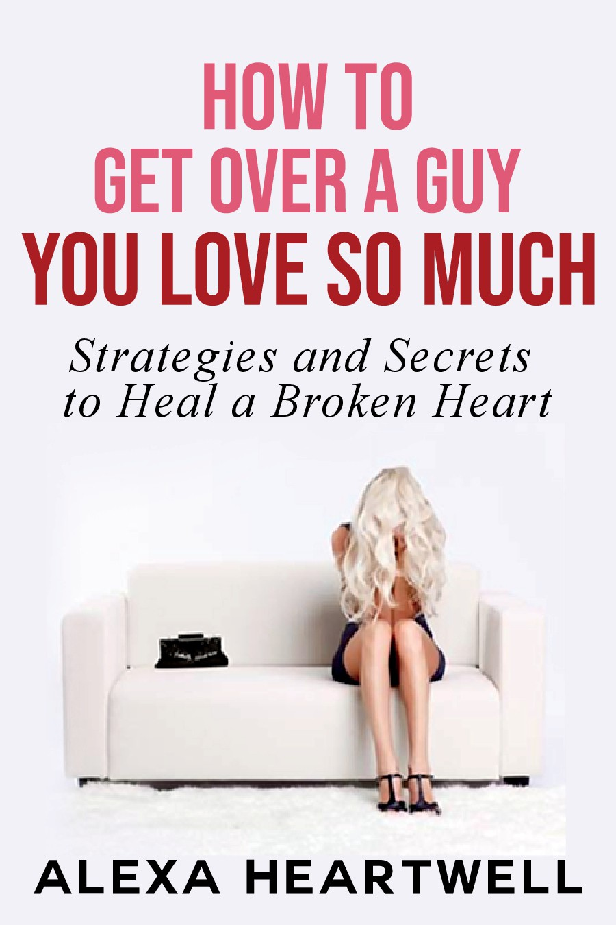 Creative Book Cover for a Female Dating and Relationships Title