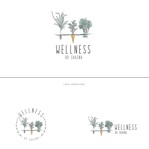 Logo design for  a nutrition private practice