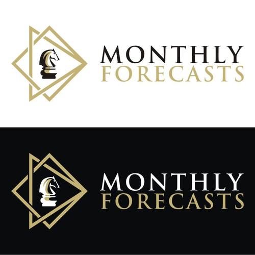 Turn my novice logo into something great for Monthly Forecasts - The Traders Best Friend!