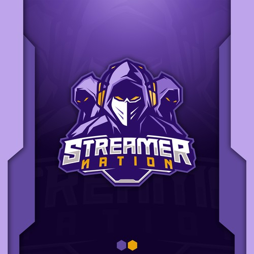 Streamer Nation Logo