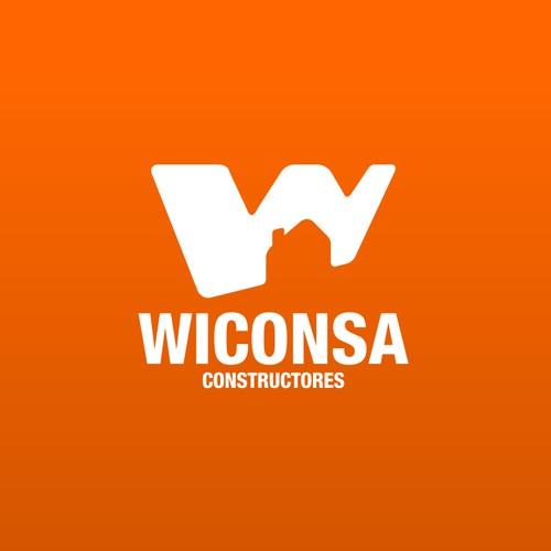 Logo design for Wiconsa Constructores