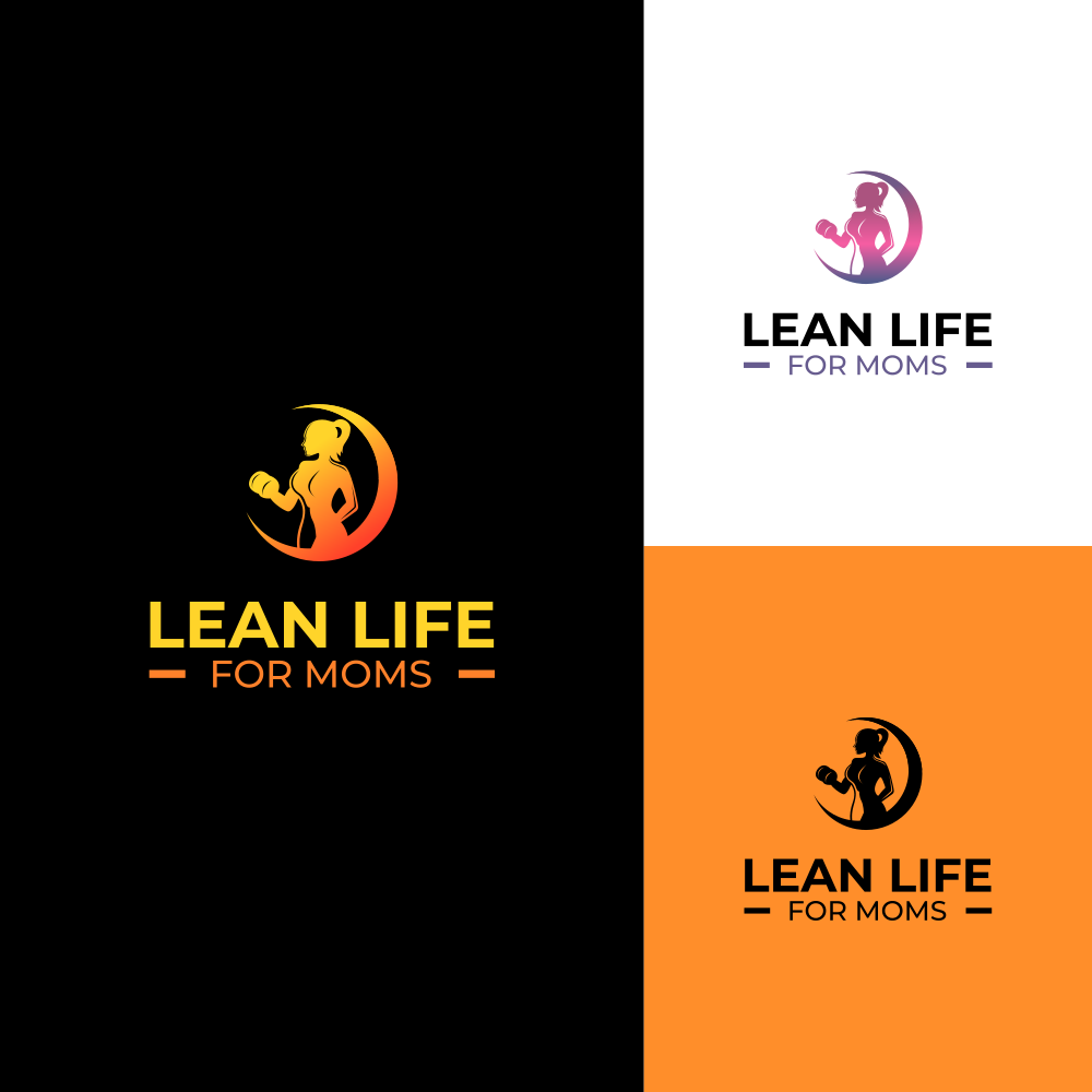 Design a attractive and captivating logo to attract busy moms who to get their body/health back