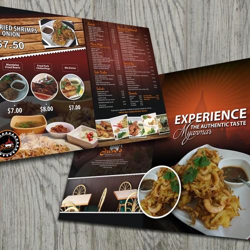 Sun's Burmese Kitchen Menu