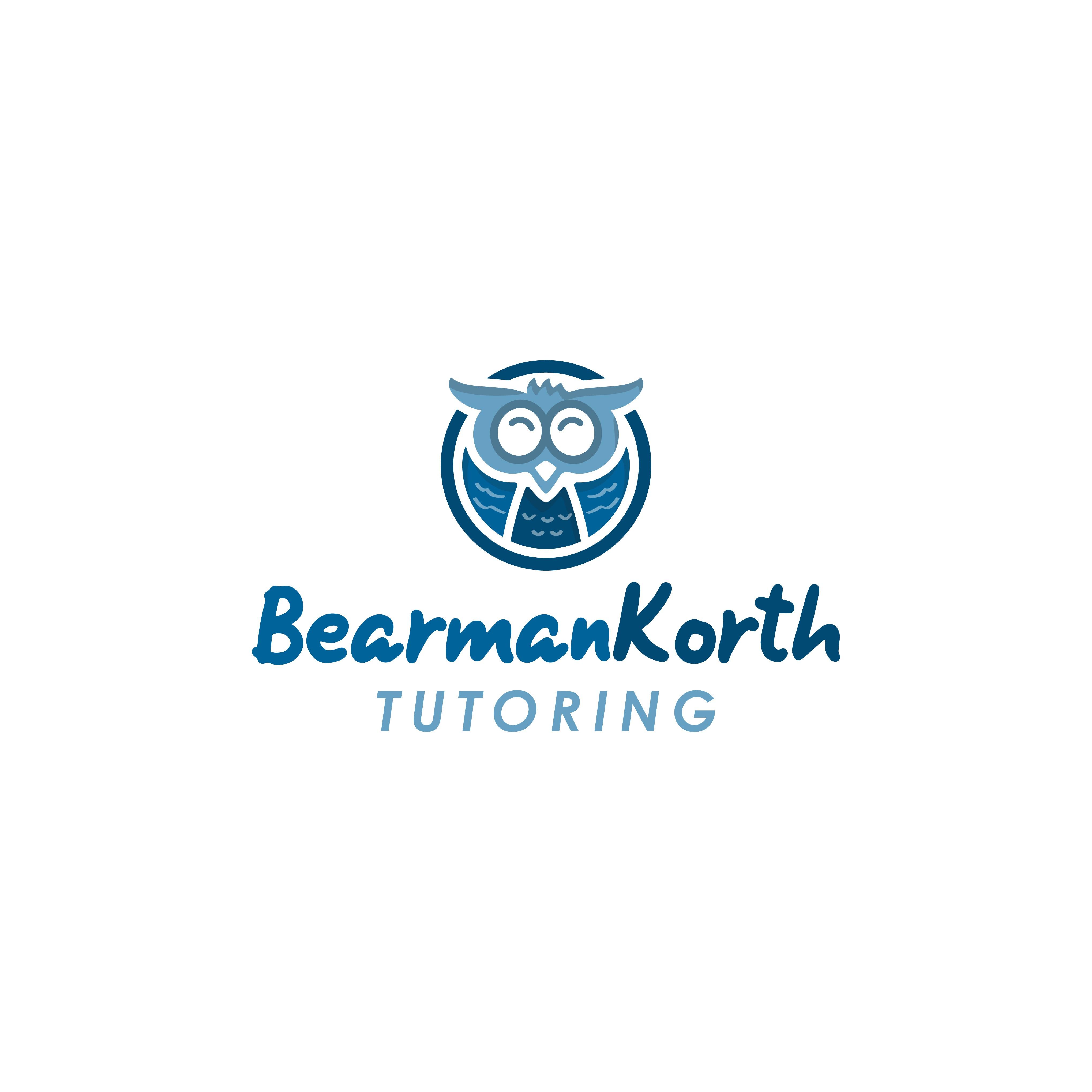 Bearman Korth Tutoring Logo Design