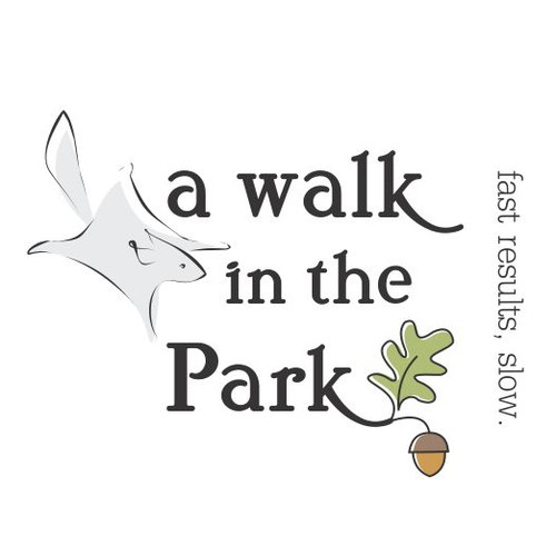logo for a walk in the park