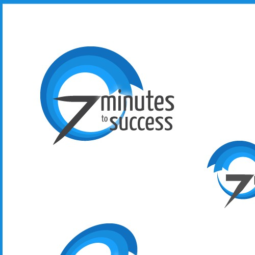 "Proposed Logo Design For a Podcast entitled ""7 minutes to success""."