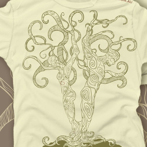 T-shirt design for Butterfly Effect Permaculture