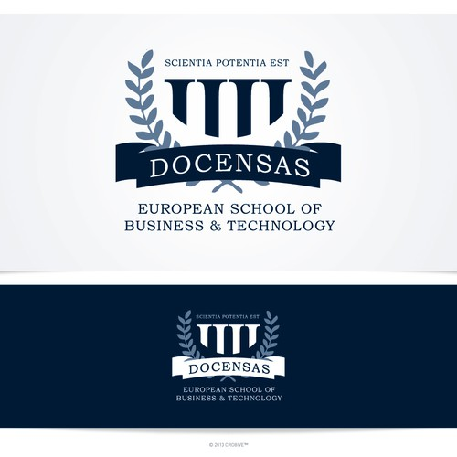 Logo DOCENSAS - European School of Business & Technology