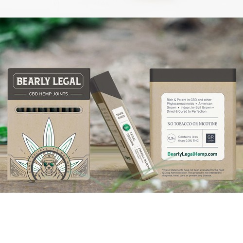 Bright and premium package for pre-roll