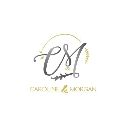 Logo and monogram for a wedding concept