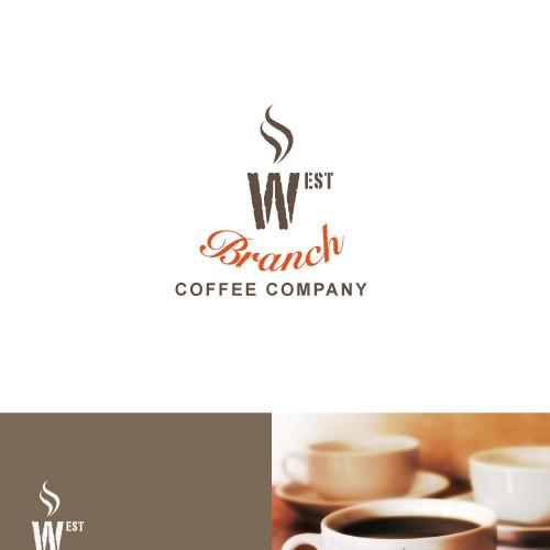 Logo concept for a coffee company