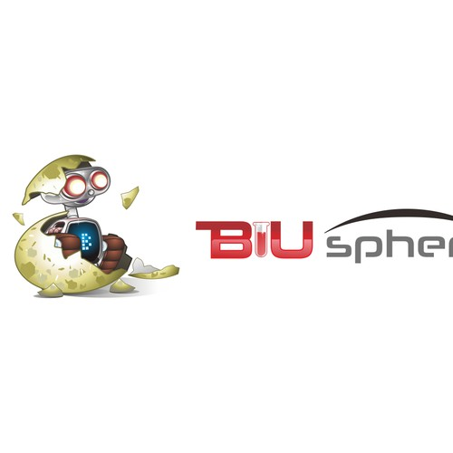 Logo for the BIUsphere innovation labs
