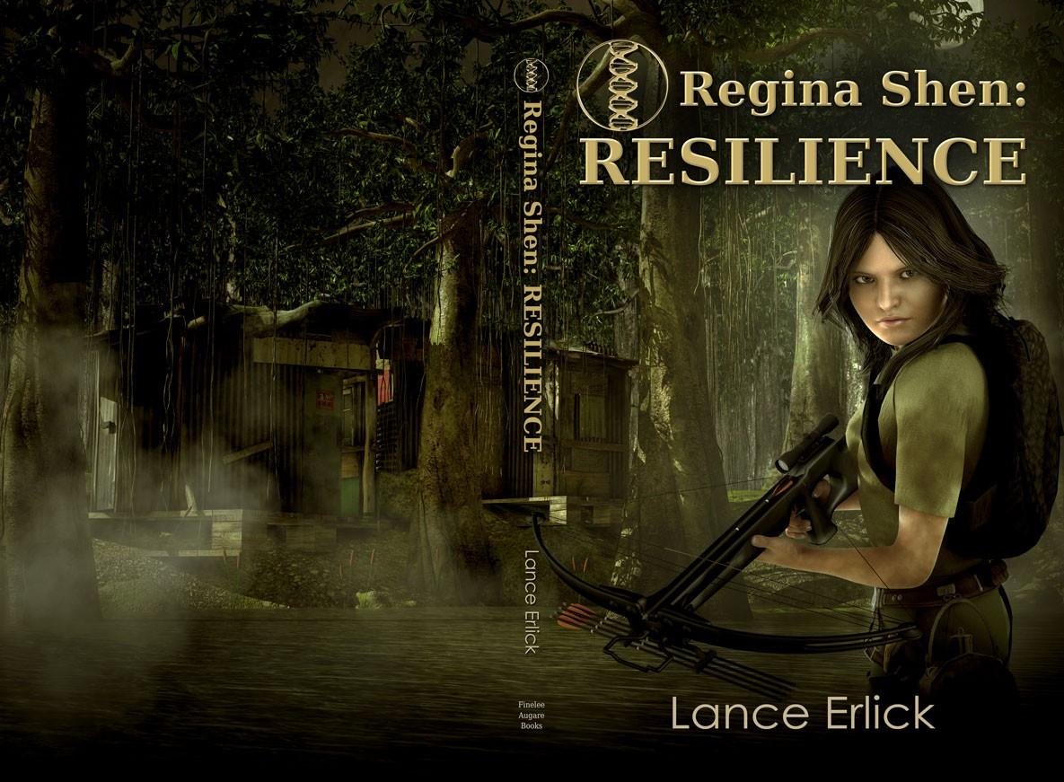Create Attention grabbing book cover for YA sci-fi series