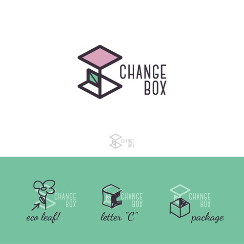 logo for discovery retail subscription box for the modern consumer