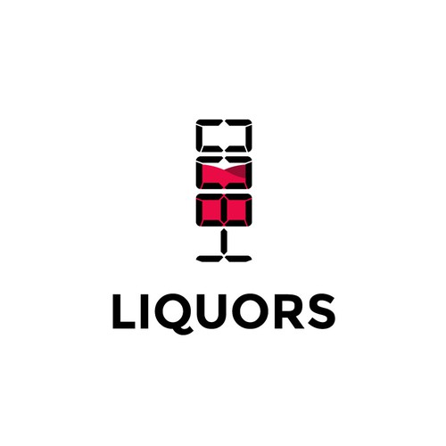 Logo design for 1-800 liquors