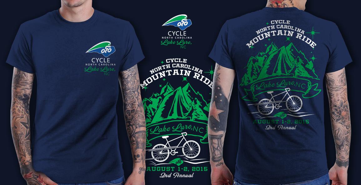 Cycle North Carolina Mountain Ride T-Shirt