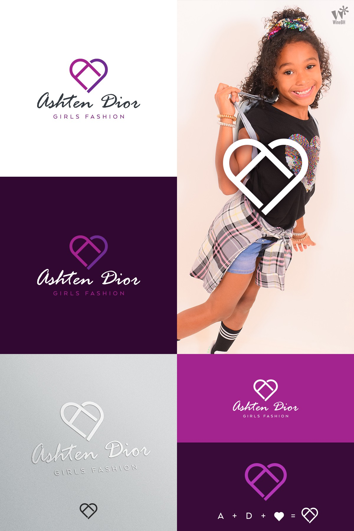 Design a cute and fun, but maturing logo for a girls boutique