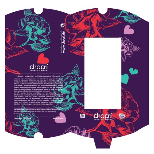 product packaging für chocri GmbH