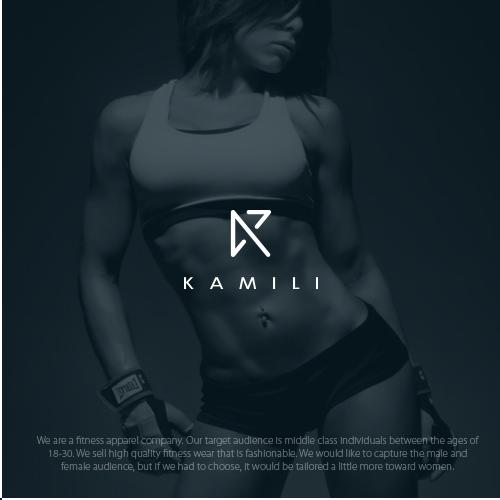 fitness apparel company logo
