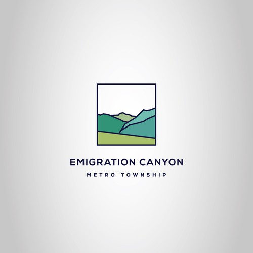 Logo design for the Emigration Canyon Metro Township