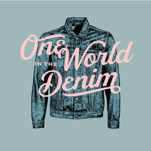 logo for customized denim jackets company