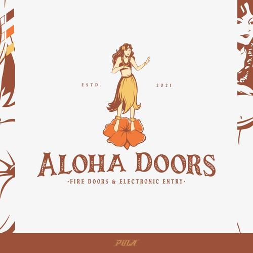 Aloha Theme Contractor Logo!
