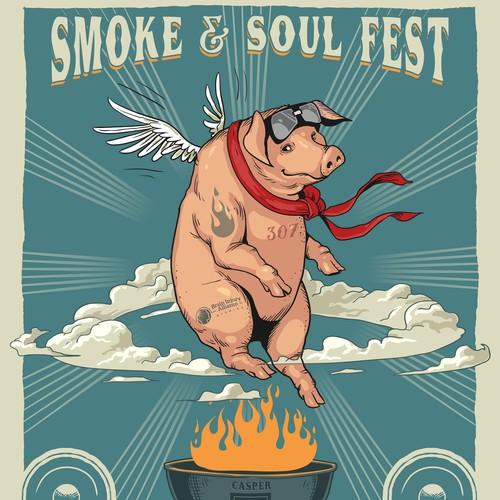 Smoke & Soul Fest poster