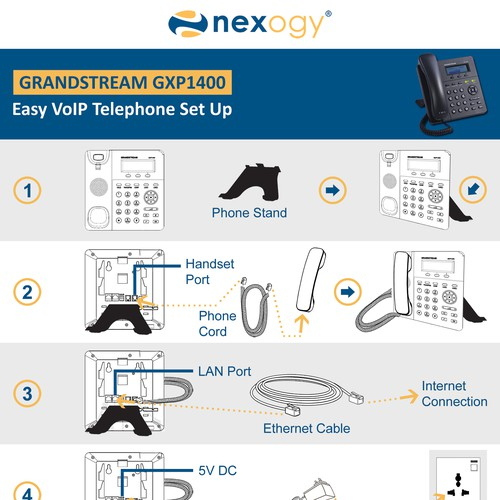 Set Up VoIP  phone manual