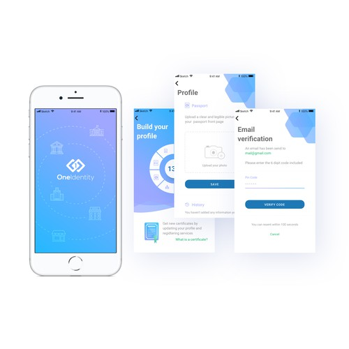 OneIdentity mobile application
