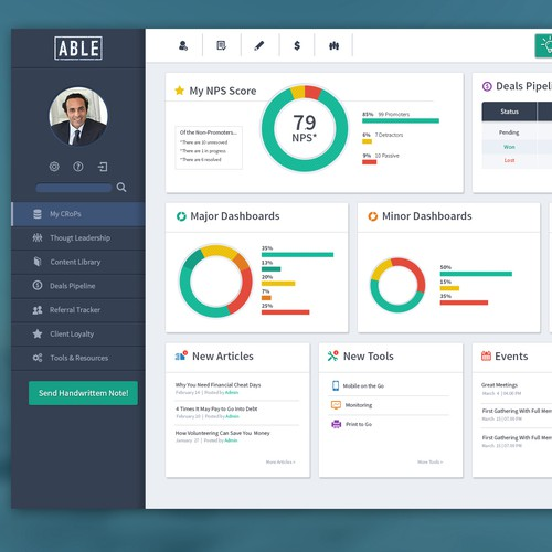 Web App Design for ABLE