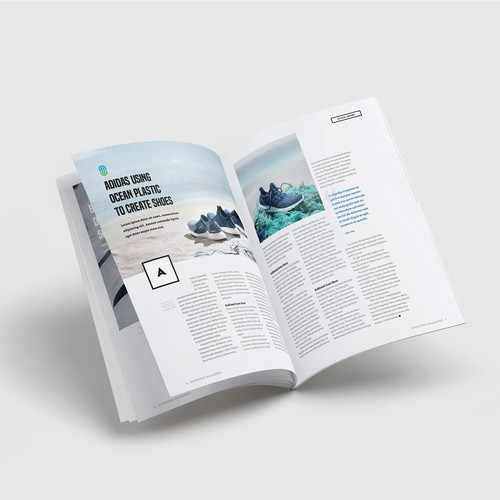 Editorial Design for Overture Magazine