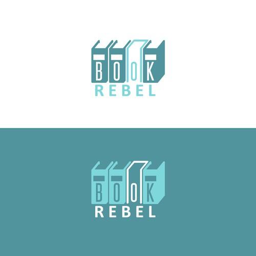 Logo Concept for Book Rebel