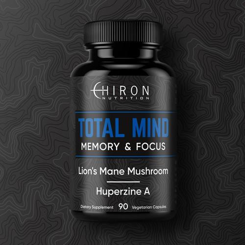 Label design for supplement