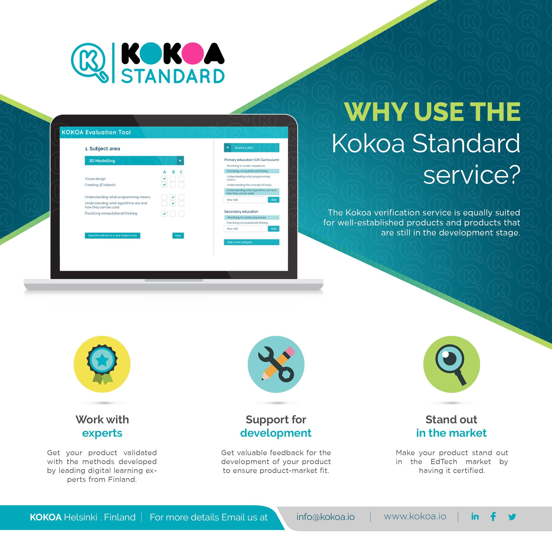 Kokoa Standard business flyer