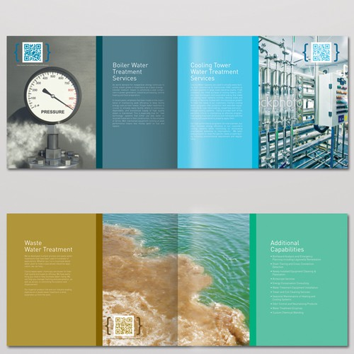 New brochure design wanted for An Industrial Water Treatment Company