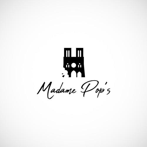 Madame Pop's logo proposal