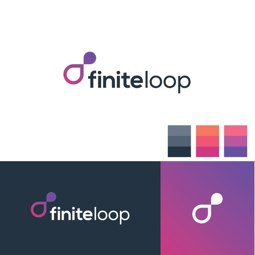 finiteloop logo design