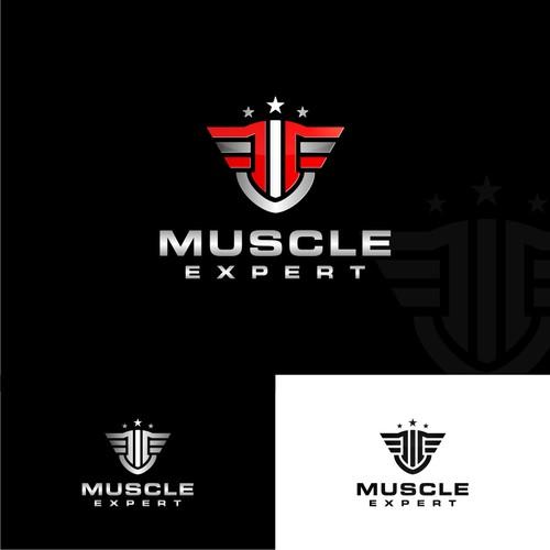 Muscle Expert ( ME ) Logo Design