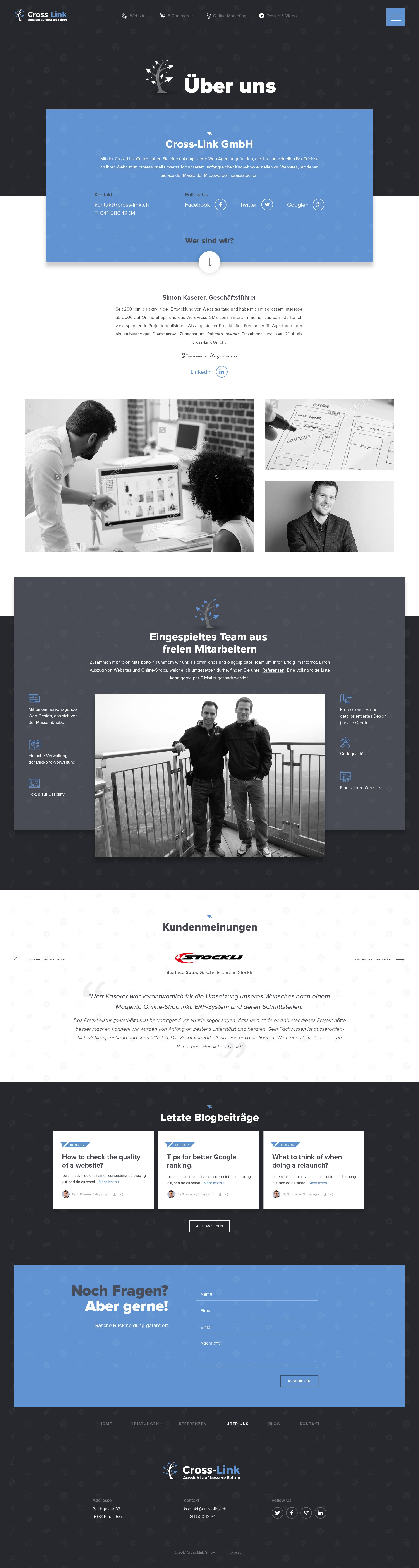 Web agency looking for creative & outstanding web design
