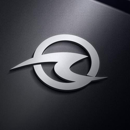 Bold Wave Ocean Logo