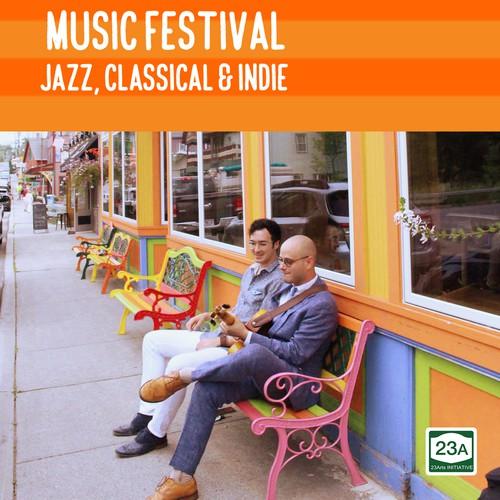 Poster design for 23ARTS Summer Music Festival