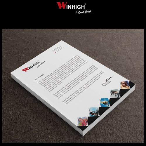Design Letterhead, Spec Sheet, Business Card and Re-design Brochure for a adventurous company
