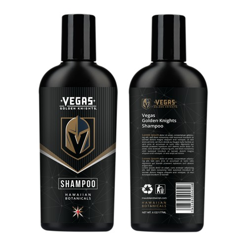 Vegas Golden Knight Shampoo