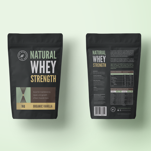 Natural protein packaging